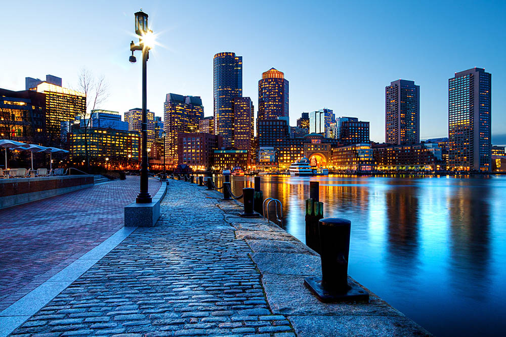 <span>Boston al atardecer. </span></p>