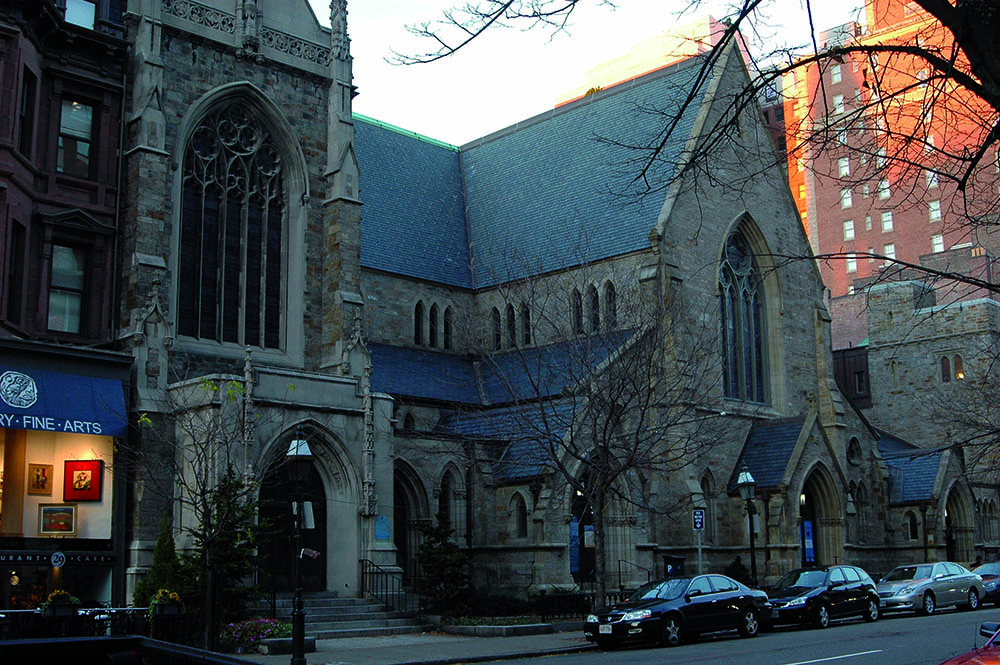 <span>Old South Church en Copley Square. </span></p>