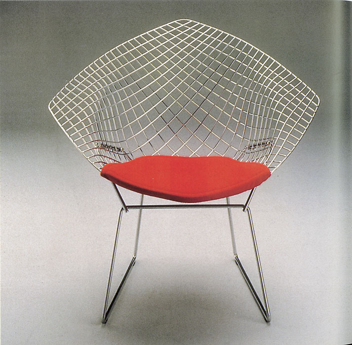 <span>Silla Diamante, de Harry Bertoia.</span></p>