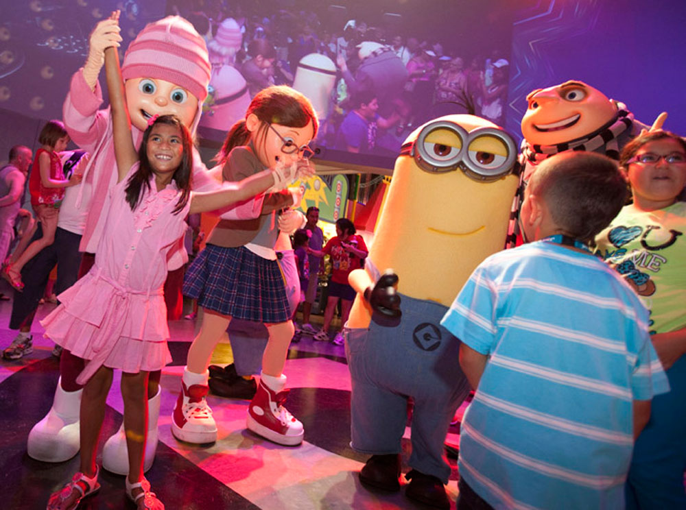 <span>El Minion Dance Party. </span></p>