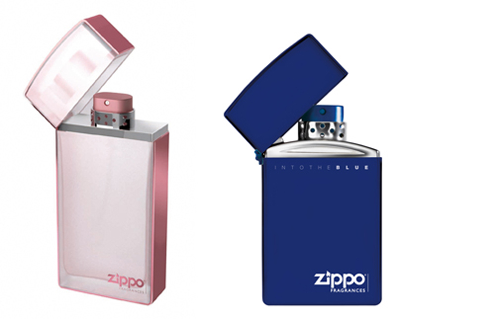 <span>Dúo de perfumes para regalarse mutuamente (Zippo Fragrances, $279 x 30 ml The Woman y $329 x 30 ml Into The Blue).</span></p>