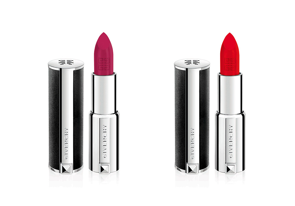 <span>Le Ruge de Givenchy, con Heroic Pink y Heroic Red.</span></p>