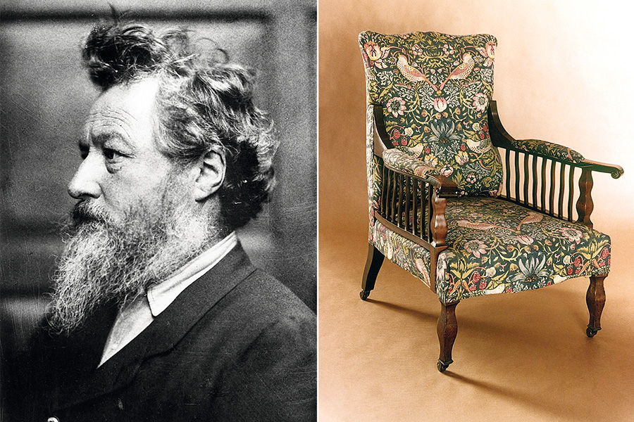 <span>William Morris y su estilo de diseño.</span></p>